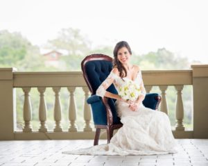 bridal portrait, outdoor wedding venue, austin, texas