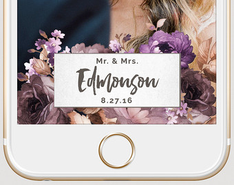 how to make your own snapchat filter for wedding